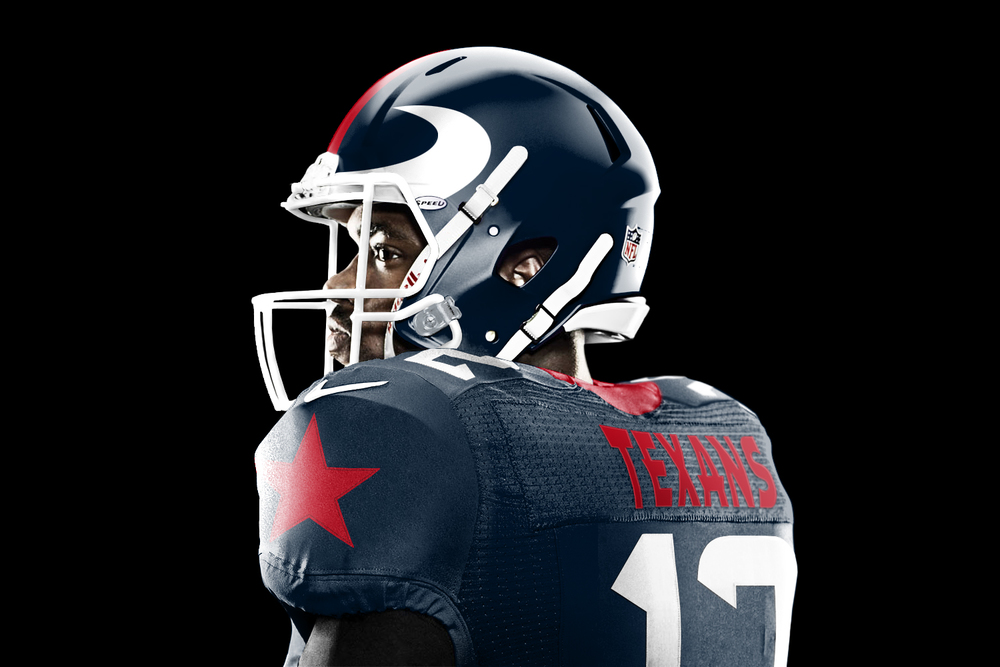 Houston Texans get a new look from Jesse Alkire 506123c0c