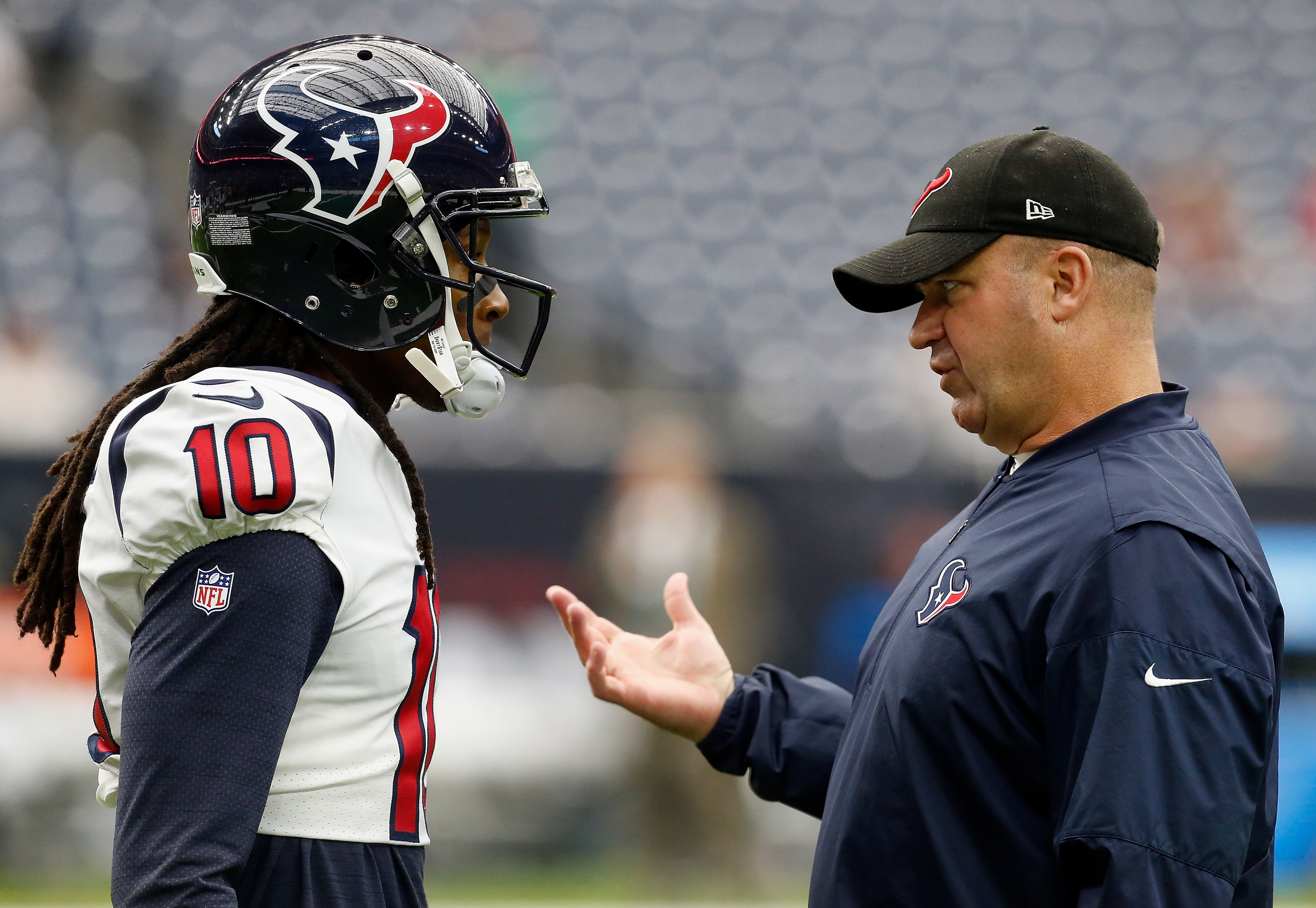 Houston Texans: Bill O'Brien stands by decision of trading DeAndre Hopkins