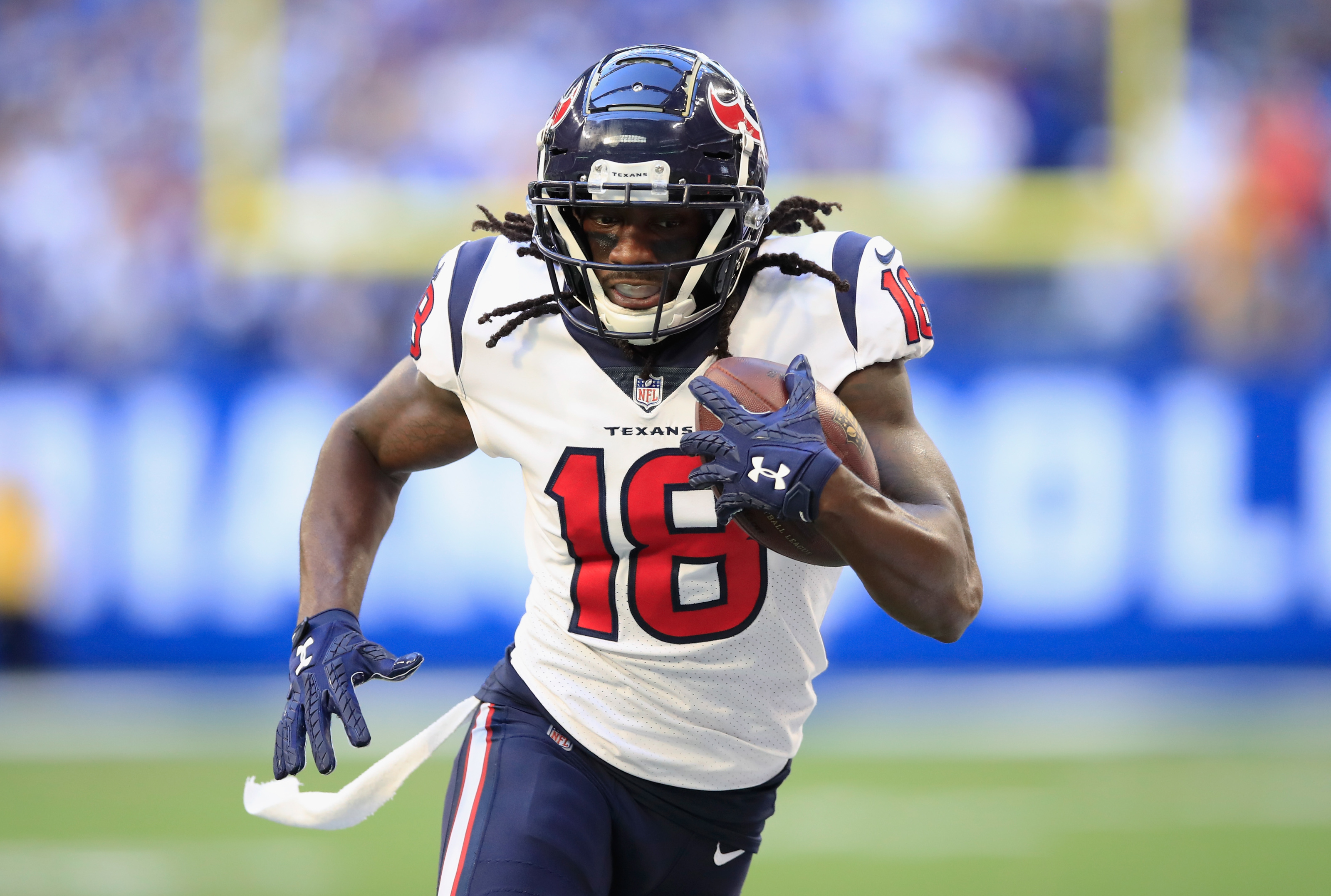 Former Houston Texans WR Sammie Coates now with the XFL