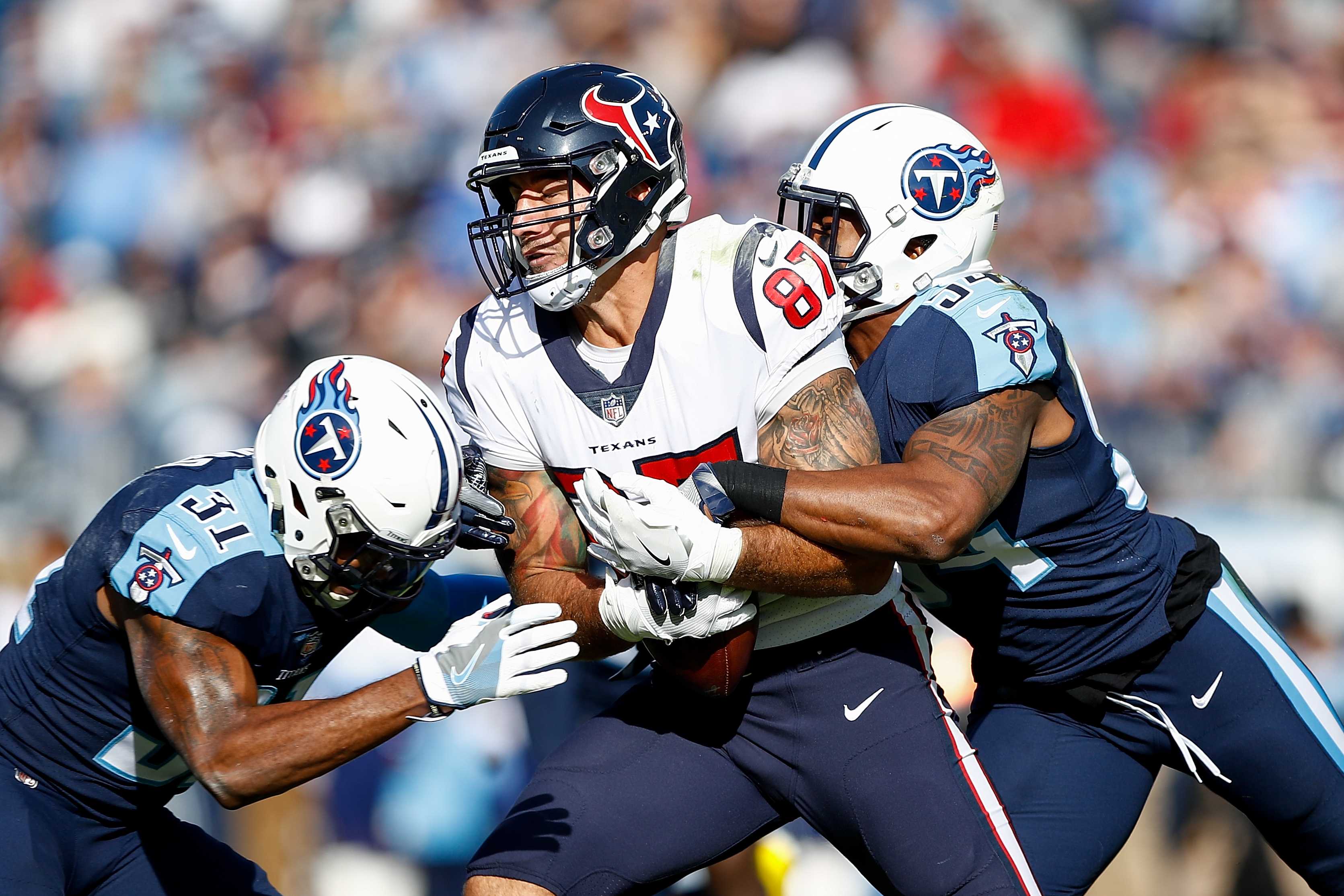 Texans Place Fiedorowicz On Reserve/Retired List
