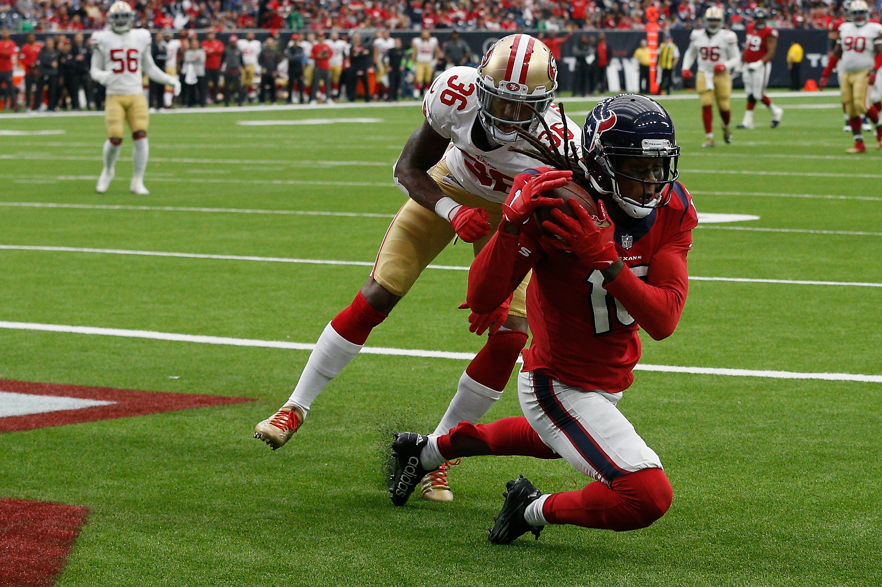 DeAndre Hopkins continues to dominate for Texans